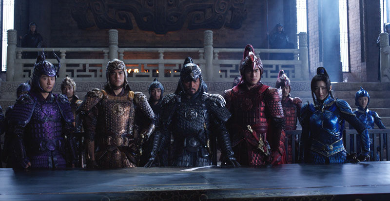 the great wall review generals army