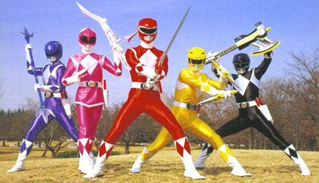 power rangers article