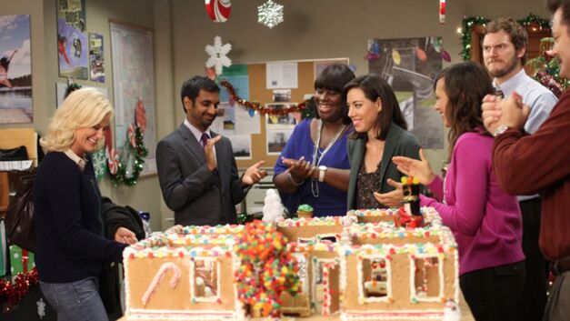 Parks and Recreation Citizen Knope gingerbread office