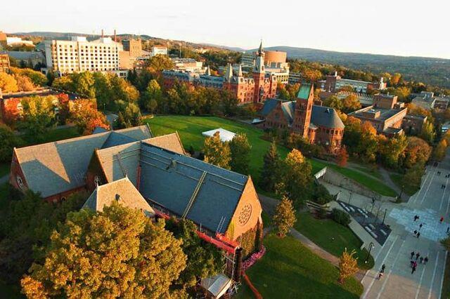 File:Cornell fall sunset.jpeg
