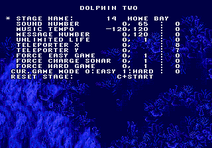 Ecco - The Tides of Time Genesis Debug