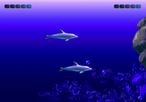 Ecco - The Tides of Time MD TwoPlayer
