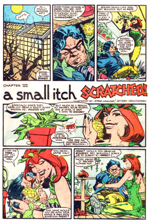 batman issue 400 chapter 7 poison ivy and a greenhouse