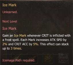Ice Mark