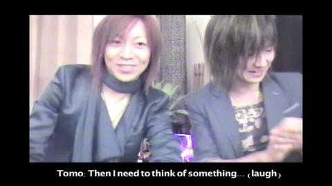 Satsuki and Tomo comment video
