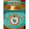 Tea leaves in a tin