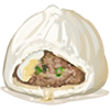 Steamed meat buns