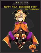 Isaac taffy town