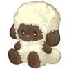 Wooly plush