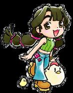 Dahlia spring outfit