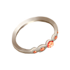 Elegant silver ring
