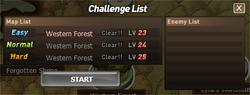 ChallengeList