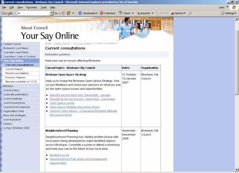 BCC homepage screenshot