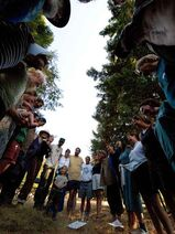Community Circle at OUR Ecovillage