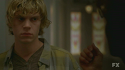 Evan Peters as Tate Langdon American Horror Story 24