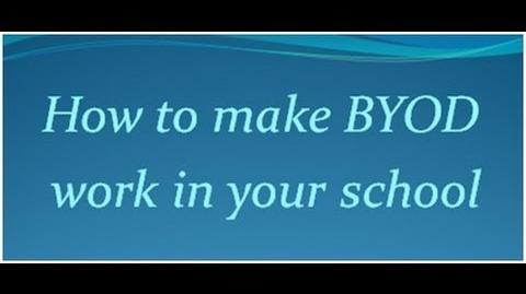 Making BYOD Work in Schools -- Three School Districts That Have Figured it Out-0