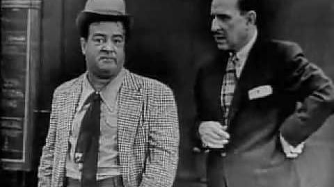 """Abbott & Costello """"Two Tens for a Five"""""""