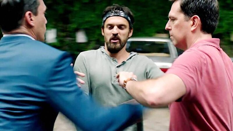 Jon Hamm, Jake Johnson, and Ed Helms in 'Tag'
