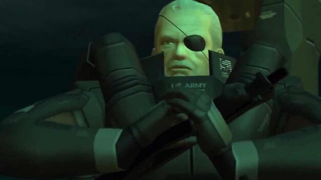 Video Game Politicians Solidus Snake