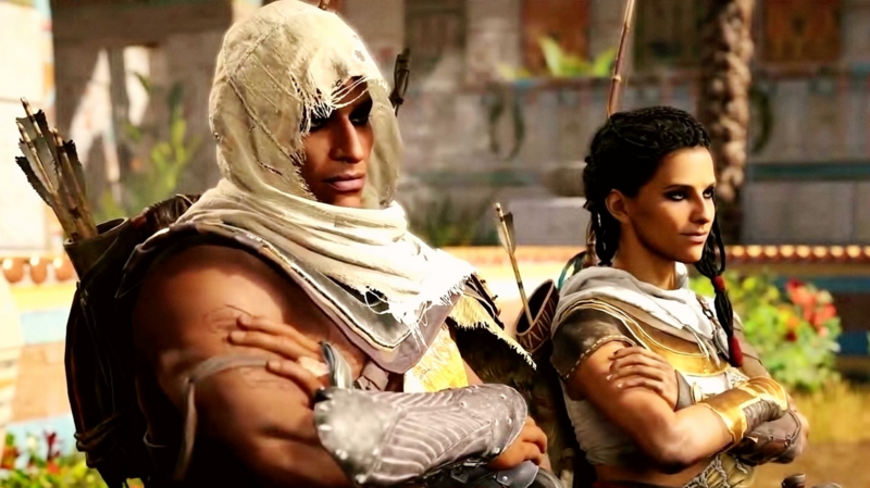 Assassin S Creed Origins Without Aya There Would Be No