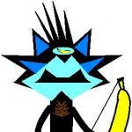 Psychopatyczny Alosson strzelający z banana's avatar