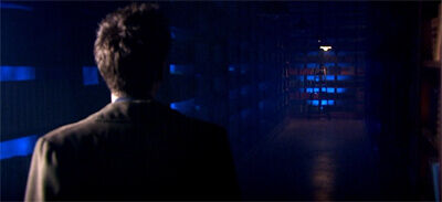 Doctor Who Silence In The Library Vashta Nerada Dark Corridor