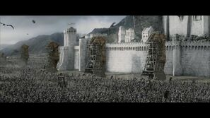 Mordor Siege Towers