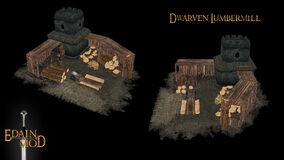 Dwarven lumbermill