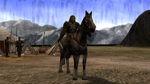 Mounted