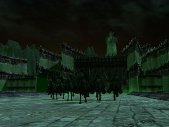 Edain Nazgul leaving Minas Morgul