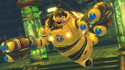 Everyone's Already Loving Arms on Nintendo Switch