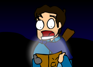 AnimationZombehAttack2BookFlash