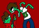 Zombeh tord vs zombeh