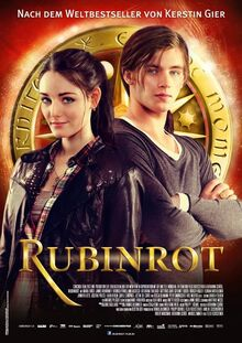 Rubinrot Filmplakat