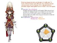 Knight stats