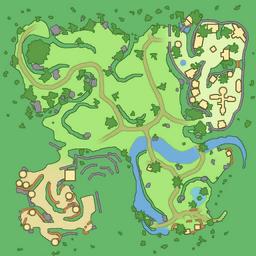map of Golden Plains