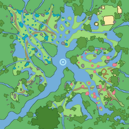 map of Wetlands