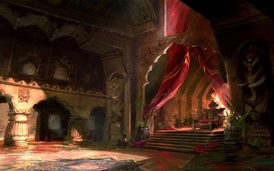CastleOnTheRockThroneRoom