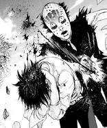 Hades attacking Akira