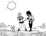 Shiki conoce a Rebecca y Happy