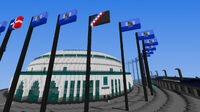 World flags - parliament of OM