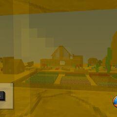 The 2nd village. Farm land, train station...