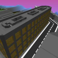 Rooftop urban battles always please!