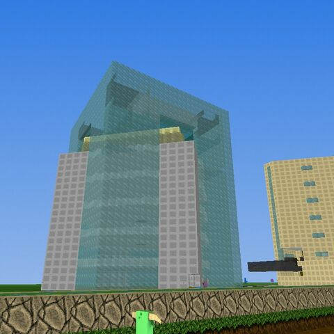 It's the second building of country and took a while to do.