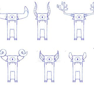 <i>Moof almost had horns.</i> - <b>Steve</b>.