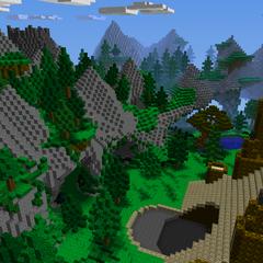 New Mountain range around the Octagon