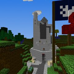 The enormous citadel of Minas Tirith located in northeast Gondor.