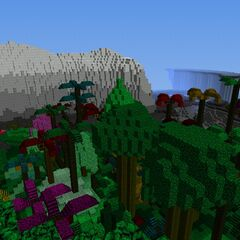 Jungle and Mountain (2)