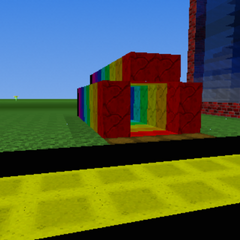 Bnm786's entrance to the rainbow caves. (Since Version 6)