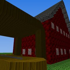 The Lucky Smells Lumbermill, complete with Sir's office on the second floor (as of V7).